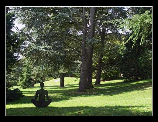 Parc de l'Enclos à Deauville