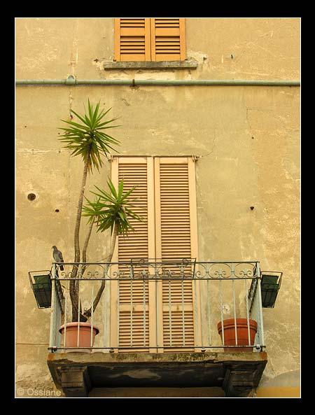 Fenêtre à Côme