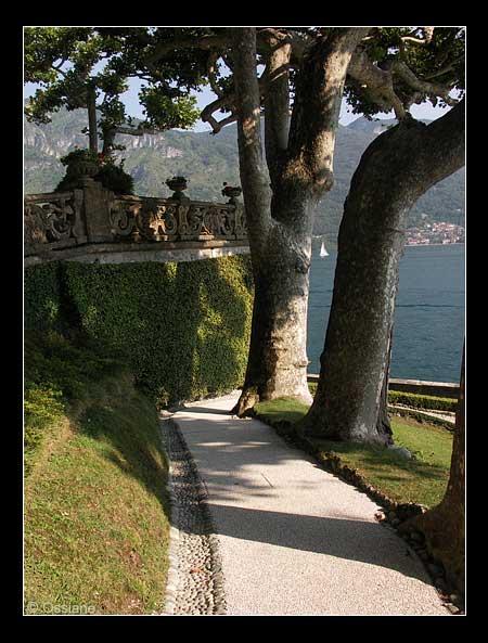 Jardin de la villa Balbianello