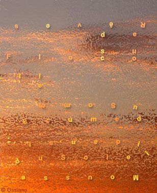 Mousse de Soleil dans l\'Ecume du Sommeil, Flocons de Rêves.