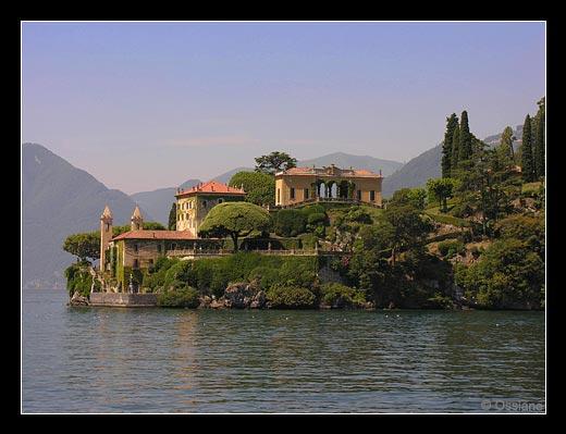 Villa del Balbianello sur le lac de Côme